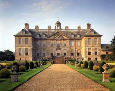 Belton House, Lincolnshire, England. Lady Catherine De Bourgh's estate, Rosings Park, Jane Austen's Pride & Prejudice. :)