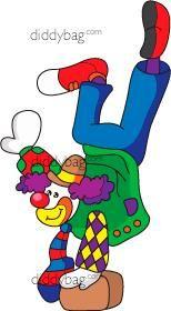 Diddybag Set 13004 - Clowning Around
