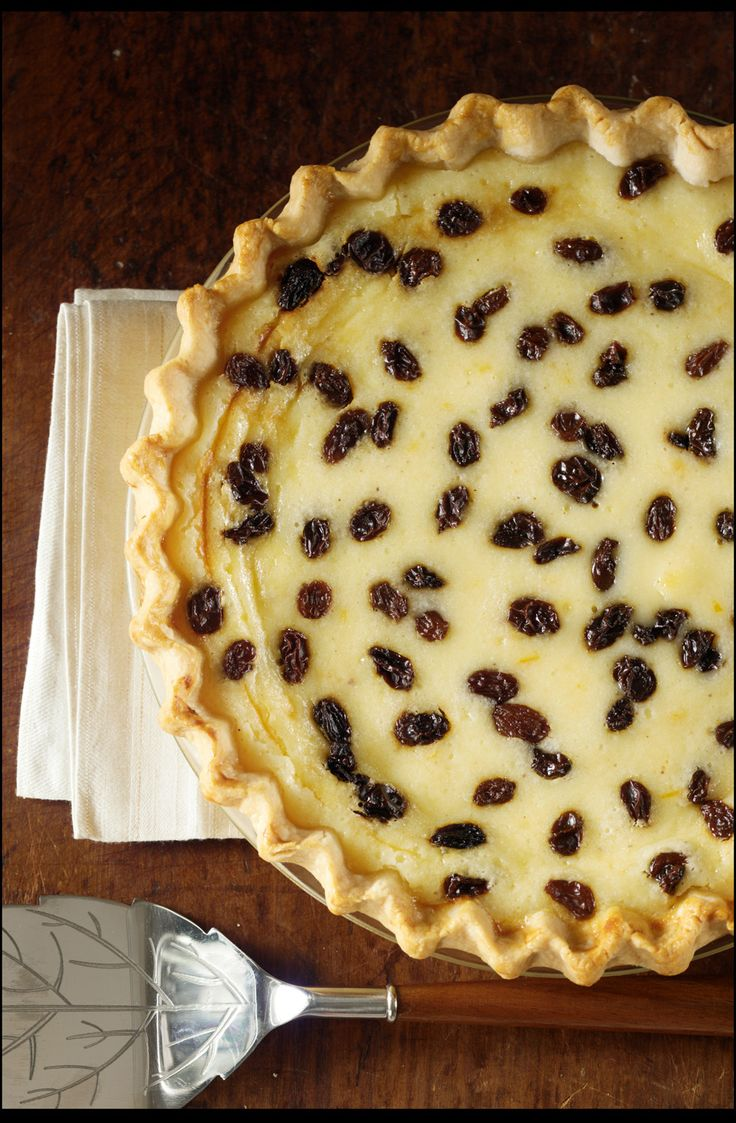 Sour Cream Raisin Pie......Sounds bad, tastes wonderful...if you make one you will make another.