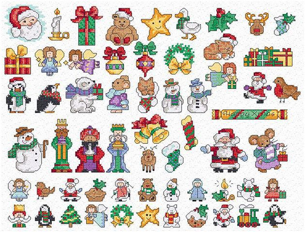 The 25+ best Christmas cross stitch patterns ideas on Pinterest ...