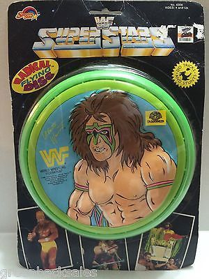 (TAS008629) - WWE WWF WCW Wrestling Radical Flying Disc - Ultimate Warrior