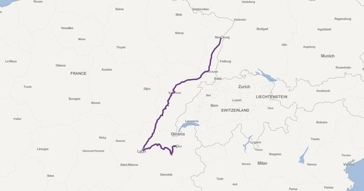 Compare several travel options from strasbourg to annecy - Lyon to geneva bus ...