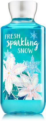 Fresh Sparkling Snow Shower Gel - Signature Collection - Bath & Body Works