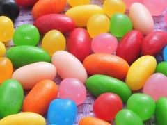 Homemade Fruit Jelly Beans | Farmers Almanac- might be fun to try! 3 ...