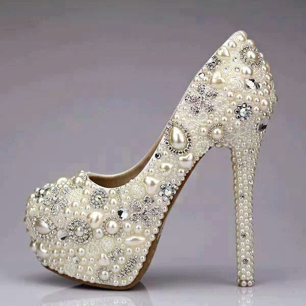 Gorgeous jeweled stilletos you can dress up or down ;)
