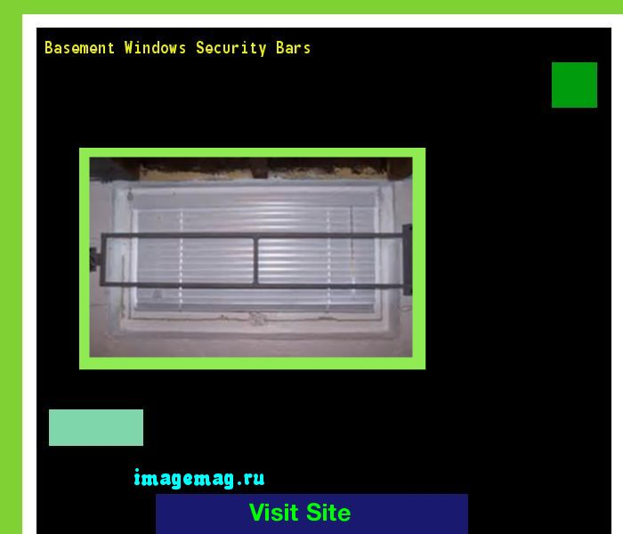 Basement Windows Security Bars 122115 - The Best Image Search