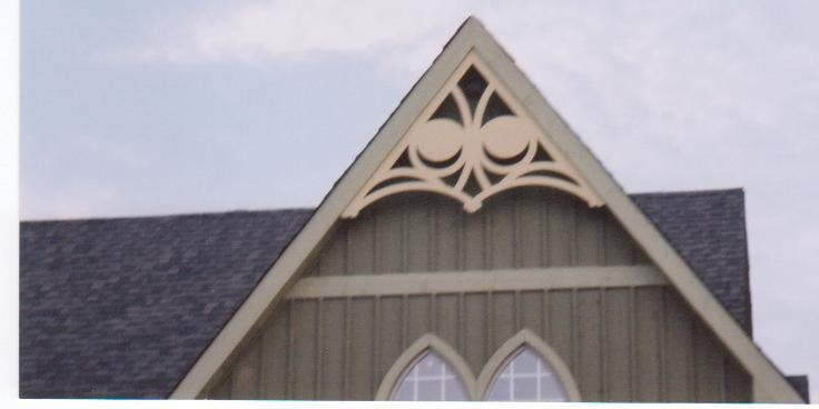 24 best images about gable decor on pinterest wings for Victorian gable decorations