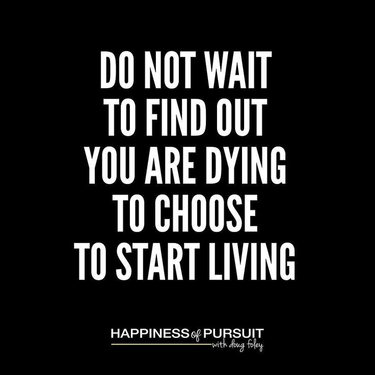 Dont wait to find out youre dying to choose to start living. #mondaymotivation #hustle #entrepreneur . So many of us dread Mondays. So much so it pretty much made the punchline for Office Space the movie. . The one simple question I have for you is this if you hate Monday so much why are you still doing the same thing? . You get to choose what you do every single day of your life. Despite what you may think or feel - youre never trapped. You can choose a different path. . If doing the same…