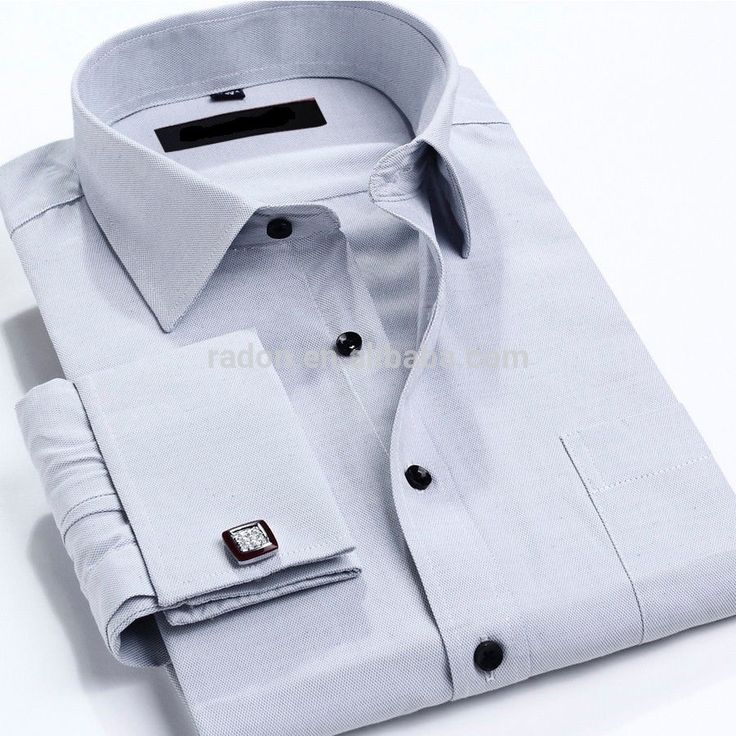 Los nuevos Mens De Lujo Formal Adelgazan color Con Estilo Apto de Vestir de Negocios Camisas de Puño Francés-imagen-Hombre Camisetas-Identificación del producto:60518055749-spanish.alibaba.com