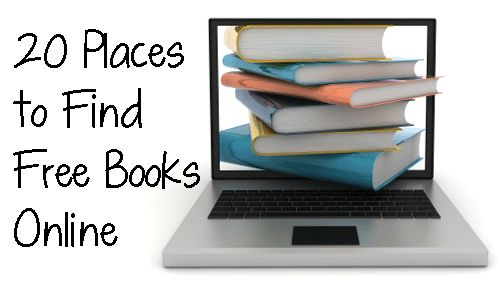 FREE READING! 20 Places to Find Free Books Online - Extensive list includes audio books and children's books!