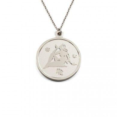 Designer Necklace in 925 Silver by Anna Saccone - 69.00 Euros Stilnest.com/AnnaSaccone