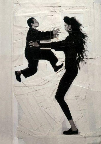 Jean Paul Goude - Farida et Azzedine Alaia