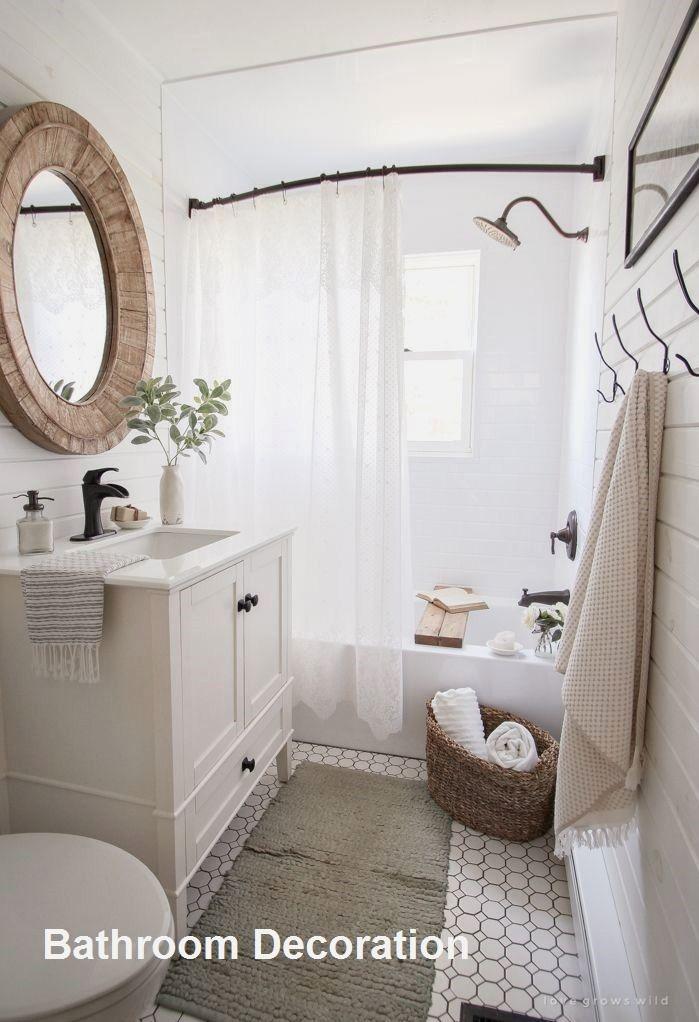 New Bathroom Decoration Ideas Bathroomideas Bathroom Inspiration Bathrooms Remodel Bathroom Decor
