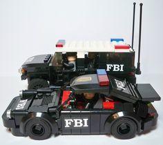 lego truck car moc | MOC - FBI cars | Flickr - Photo Sharing!