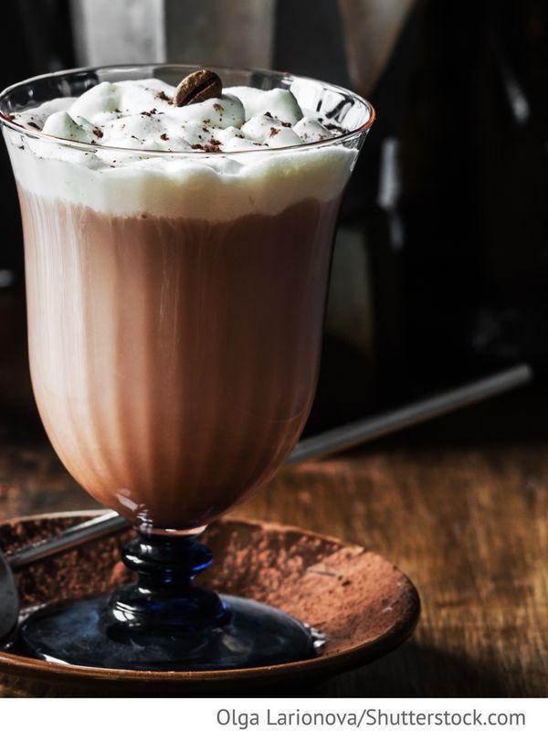 Kaffeecocktail Kofeinyj koktel - Кофейный коктейль - Russische Rezepte