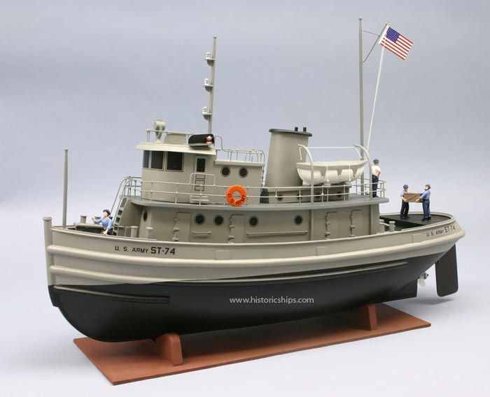 army tug st 74 scale model boat kit by dumas models models working boats pinterest scale. Black Bedroom Furniture Sets. Home Design Ideas