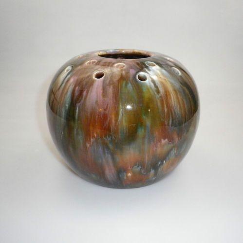 13.5cm x 17cm LARGE REGAL MASHMAN REGAL ART WARE ROSE BOWL