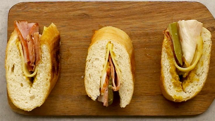 Kubanische Mini Sandwiches