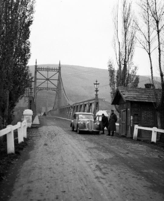 Erzsébet híd. Tokaj-Rakamaz
