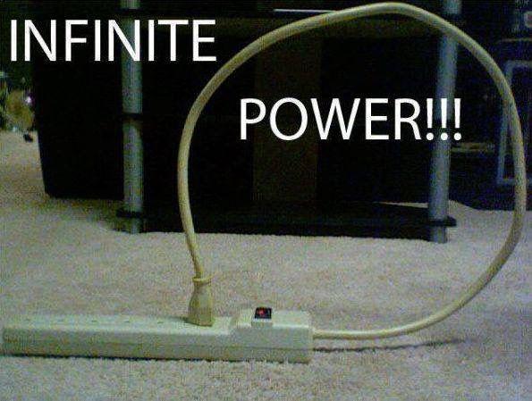 Infinite power!