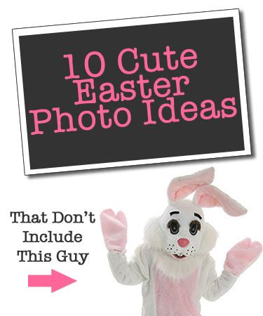10 cute Easter photo ideas - that don't include the Easter Bunny #photography #kids