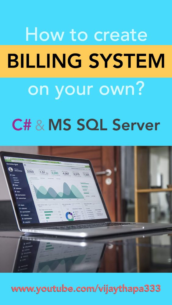 """This is a tutorial series on """"HOW TO CREATE BILLING AND INVENTORY MANAGEMENT SYSTEM in C#"""". Here, you will learn 1. To design forms in Visual Studio 2. Create Relational Database in MS SQL Server 3. Create Classes, Methods, Objects 4. Event Driven Programming, etc. #softwaredevelopment #programmingtutorials #billingsystem"""