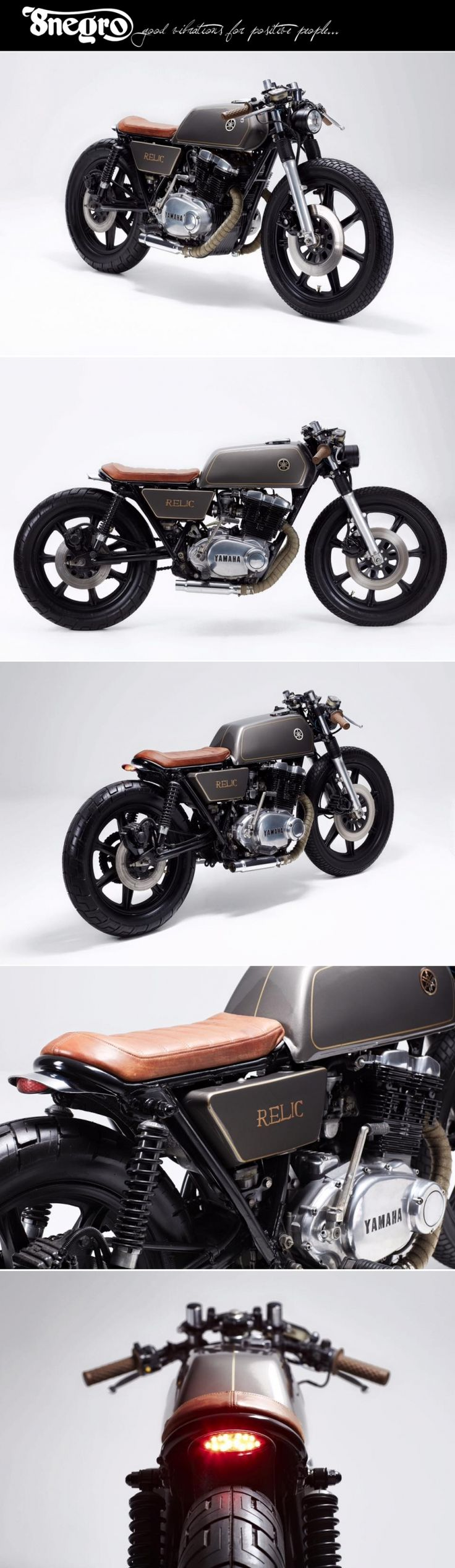 Yamaha XS500:: Relic Motorcycles.| 8negro