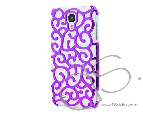 Hollow Vine Series Samsung Galaxy S4 Electroplate Case i9500 - Purple     http://www.dsstyles.com/samsung-galaxy-s4-cases/hollow-vine-series-samsung-galaxy-s4-electroplate-case-i9500-purple-2.html