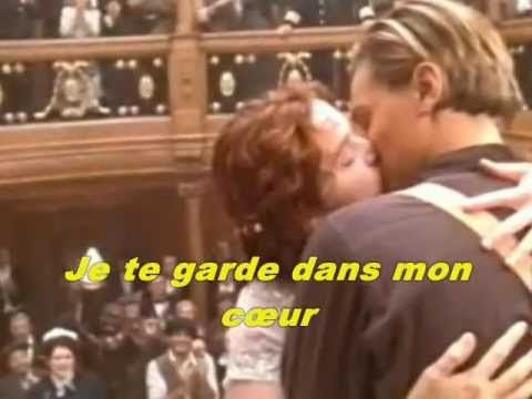 Celine Dion - Mon coeur survivra pour toi (My Heart Will Go on - Titanic) - YouTube