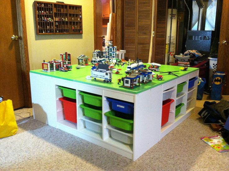 8 best images about speelgoed opbergers on pinterest - Lego kinderzimmer ...