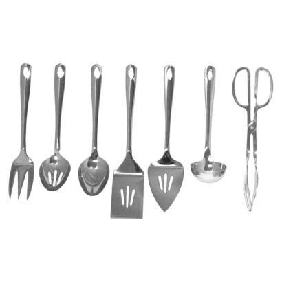 Oneida 7 Piece Stainless Steel Accessory Set