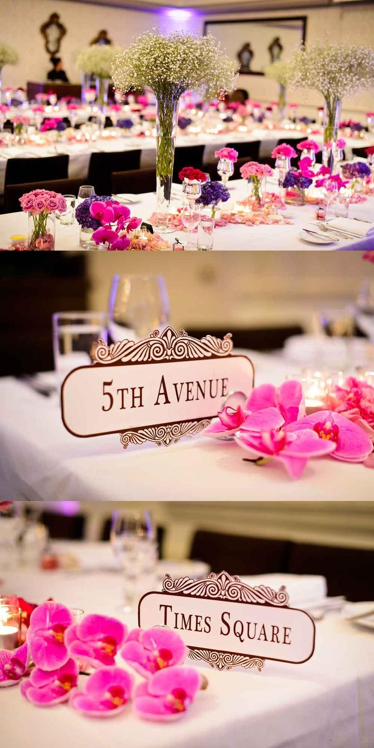 Creative TableNumbers #modernweddingblog
