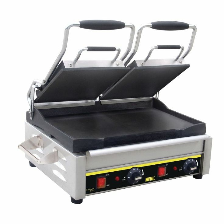 Panini Grill Double Smooth 9 1/4''(H)x 23''(W)x 15 1/2''(D).
