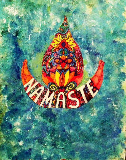 namaste. I bow to the divine within you. Prana, the life breath within, is what we Xtians understand as the Holy Spirit.