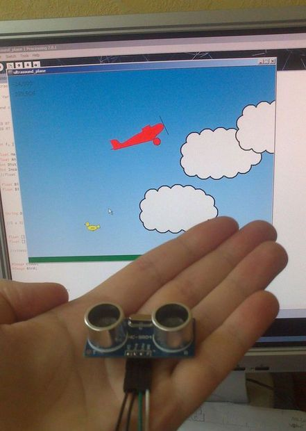 How to control a simple Processing game with Arduino
