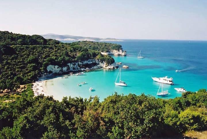 Voutoumi bay, Paxoi islands #Greece