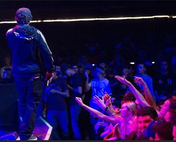 Thought I told u I was a rapper #rap #trap #rapmusic #trapmusic #california #socal #ie #oc #la #inlandempire #orangecounty #losangeles #hollywood #pomona #ontario #orange #gas #mosh #turntup #rapper #beats #lit #venice #santamonica #worldwide #international #flight #kush