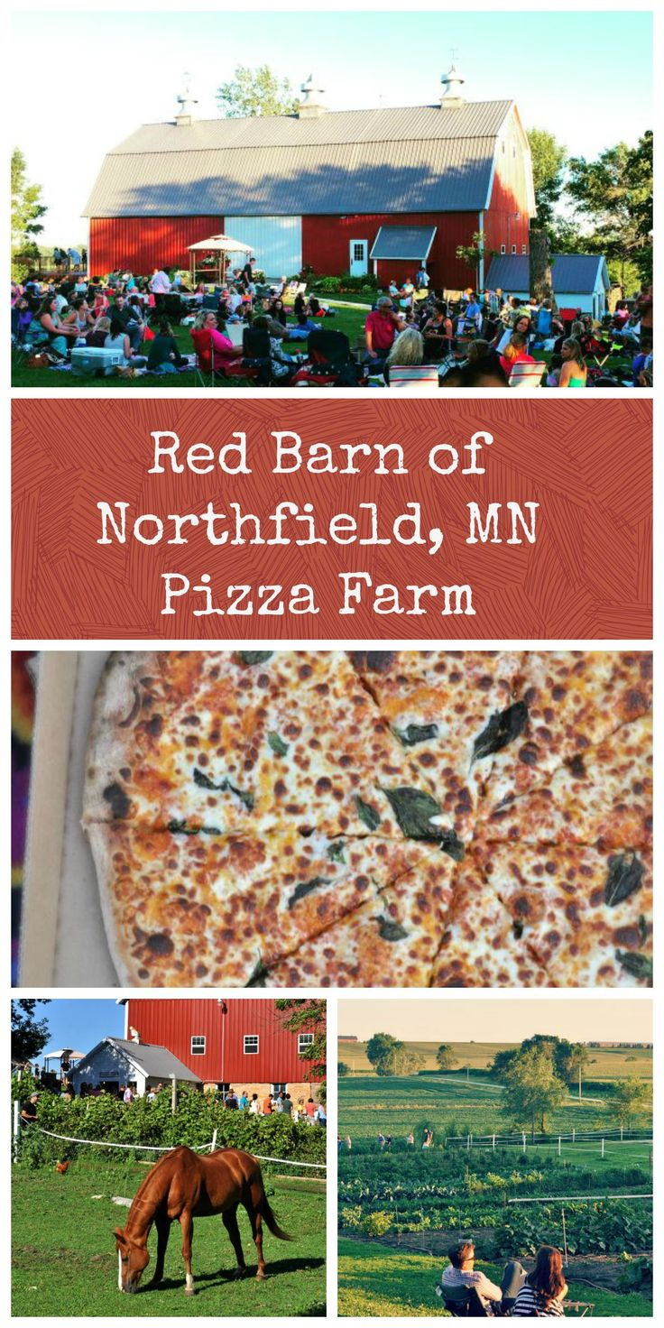 Everything you need to know about visiting the Red Barn of Northfield Minnesota for their Pizza Night.