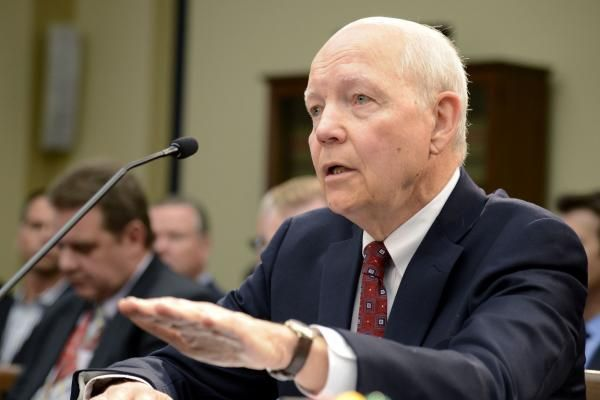The Department of Justice on Thursday settled lawsuits with conservatives groups for unfair scrutiny by the Internal Revenue Service.