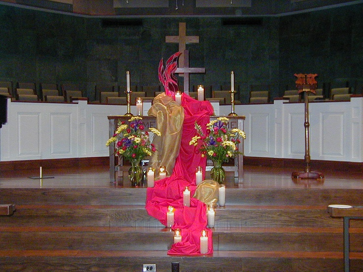 12 best church alter table images on pinterest church for Altar wall decoration