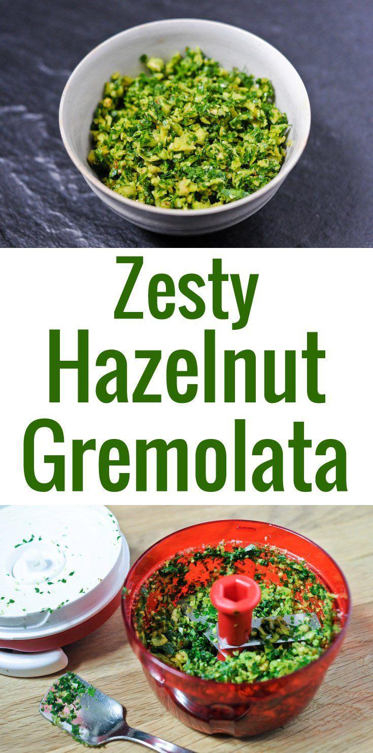La gremolata est un délicieux condiment italien, mélange tout simple de persil plat, zeste de citron et ail, hâchés finement. Servi traditionnellement avec l'osso buco, mais les usages sont multiples !