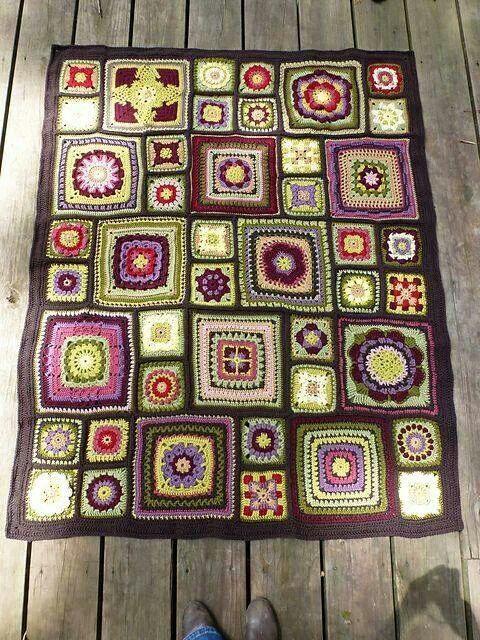 Ravelry pattern blanket