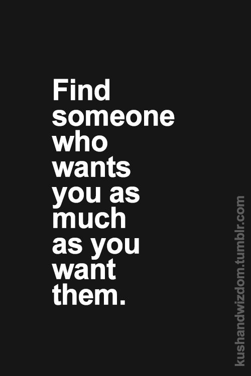 This is the ultimate goal in finding love! Love, desire, passion, wants and needs fall into one person.