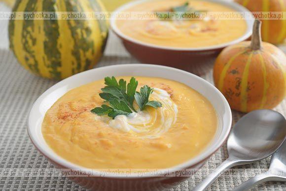 Zupa z dyni z zacierką