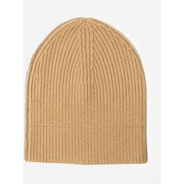 Everlane Women's Cashmere Beanie (3.325 RUB) ❤ liked on Polyvore featuring accessories, hats, camel, mens cashmere hats, mens beanie hats and mens cashmere beanie hat