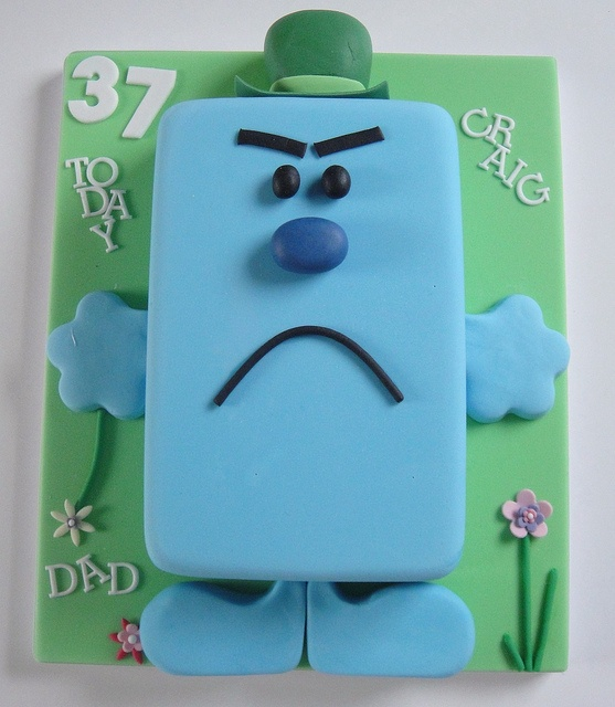 Mr. Grumpy - For all your cake decorating supplies, please visit craftcompany.co.uk