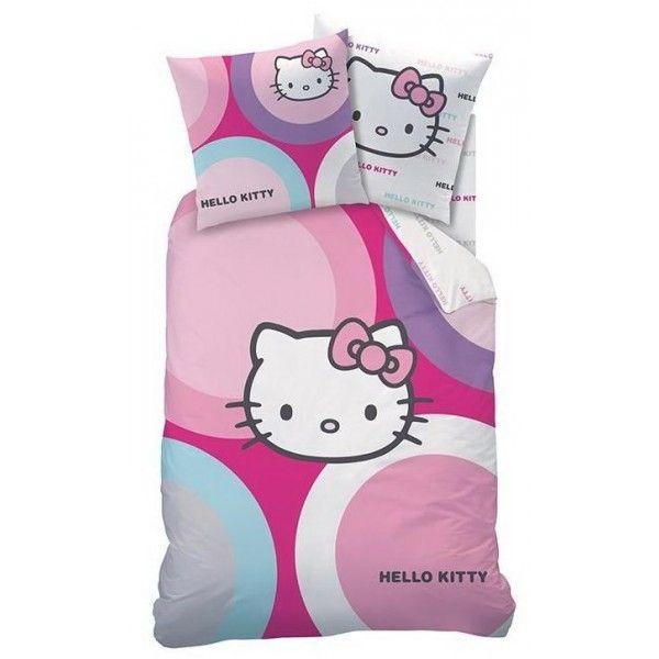 Hello Kitty sengetøj i 100% bomuld