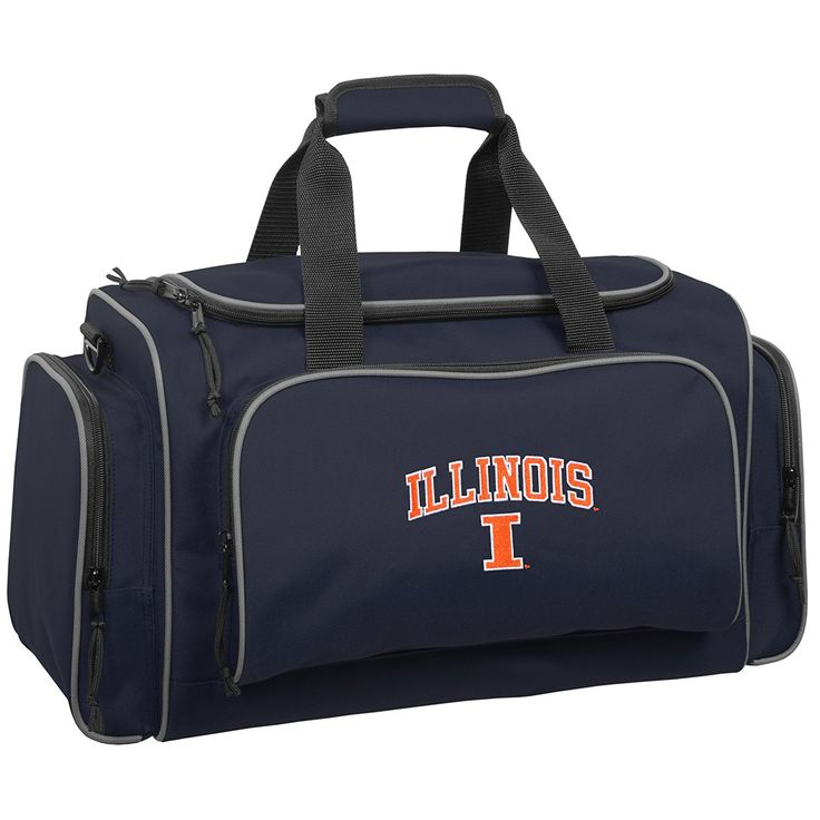 Wally Bags University of Illinois Fighting Illini 21' Collegiate Duffel *** To view further for this item, visit the image link.