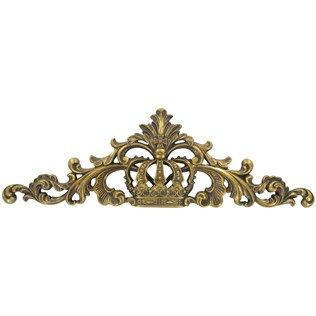 Gold Crown Wall Plaque with Swirls | Shop Hobby Lobby