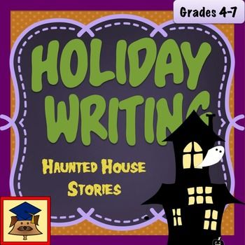 Haunted house stories are a staple of Halloween. Halloween writing: haunted house story leads students step by step through the process of creating their own short scary story, and also encourages use of rich sensory description and vivid words to create a mood.